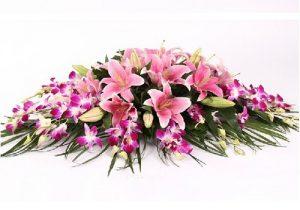 C款桌花台花