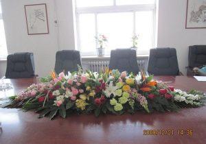Q款桌花台花