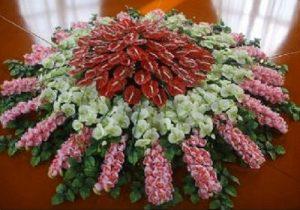 S款桌花台花
