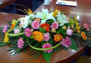T款桌花台花