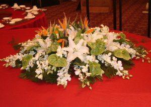 V款桌花台花
