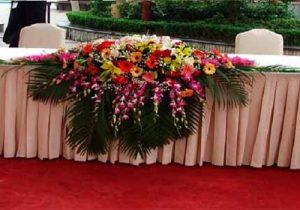 W款桌花台花